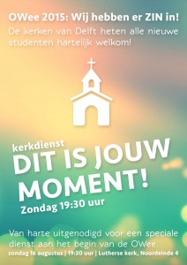 Advertentie Studentendienst OWee