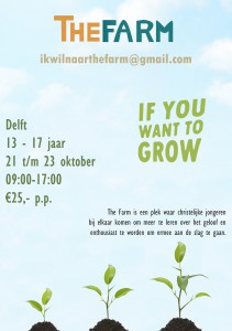 if you want to grow